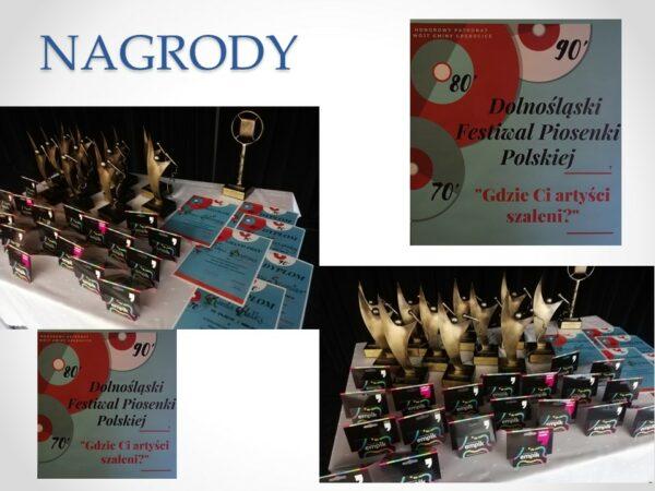Nagrody w II Festiwalu Piosenki Polskiej