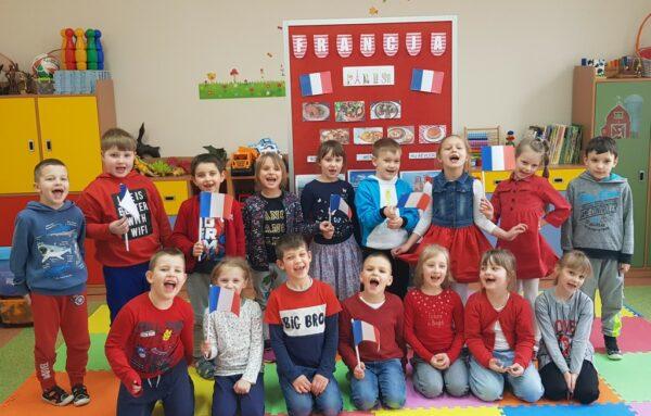 Dzieci z oddziału przedszkolnego 0A
