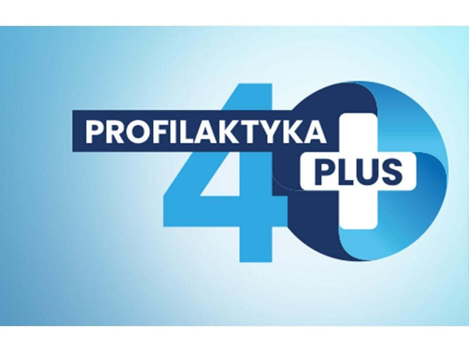 Logo programu Profilaktyka 40 plus