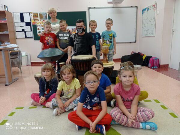 Oddział przedszkolny z panem Patrykiem Borowym